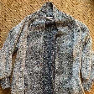 Vintage 1980s Oversized Cardigan Sweater